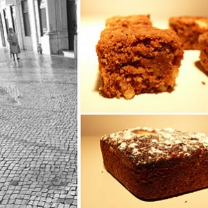 Brownies de amêndoa
