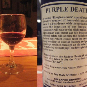 Vinho Purple Death