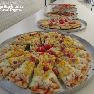 Chef na Escola 2018 - Pizzas