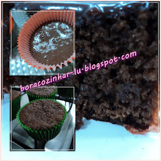 Cupcake de Chocolate com Iogurte Natural