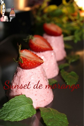 Sunset de morango ♥♥♥