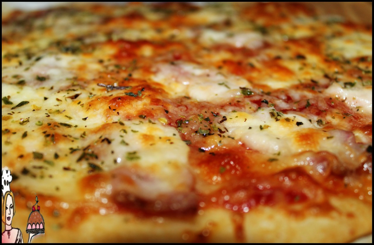 Piza cheeselover tostada ♥♥♥