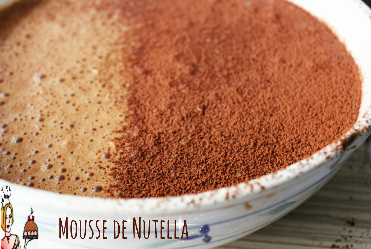 Mousse de Nutella ♥♥♥