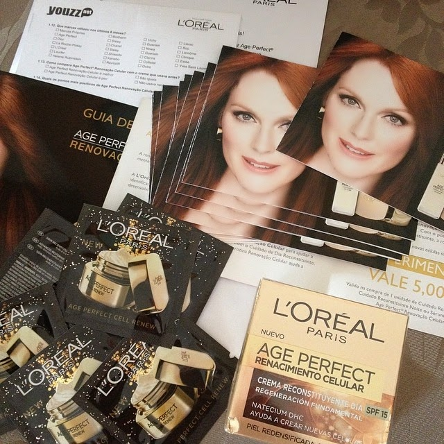 Campanha L'Oréal Age Perfect • YOUZZ Net