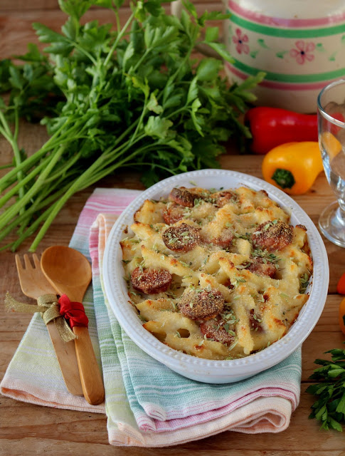 Mac and Cheese de Salsicha