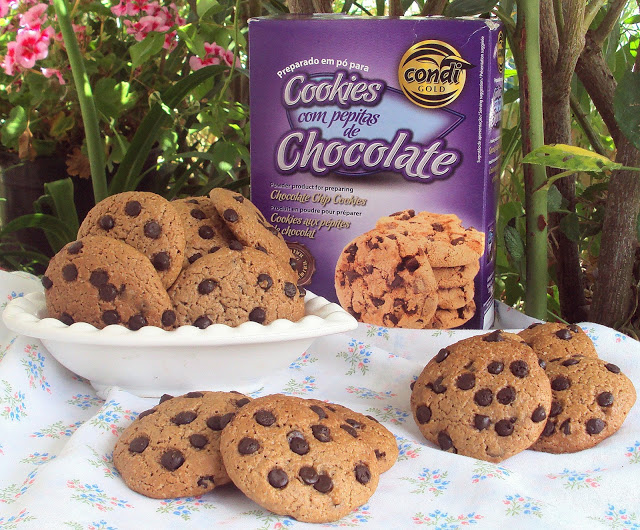Cookies com Pepitas de Chocolate ::: Condi