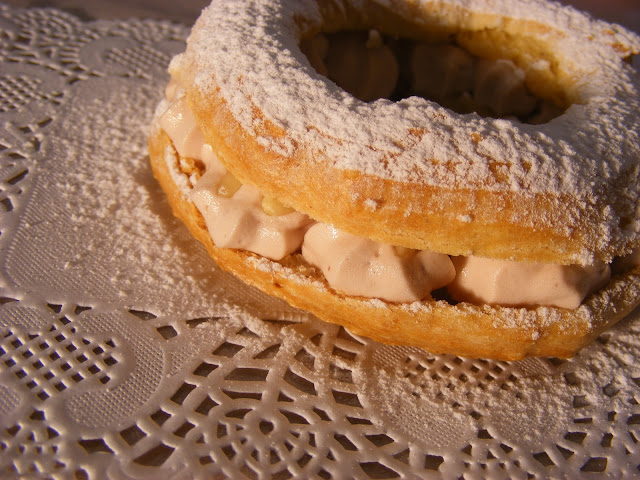 Paris Brest com recheio Royal