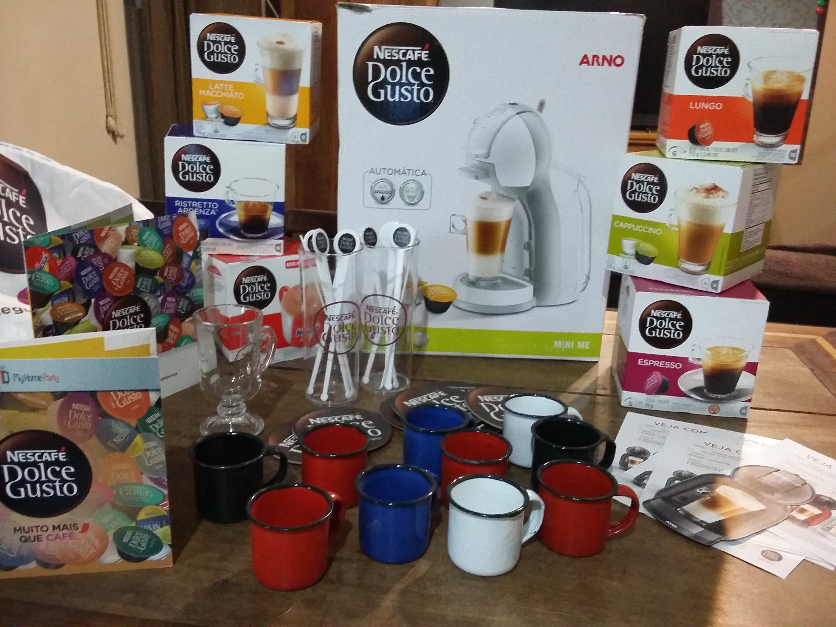 My Home Party Dolce Gusto