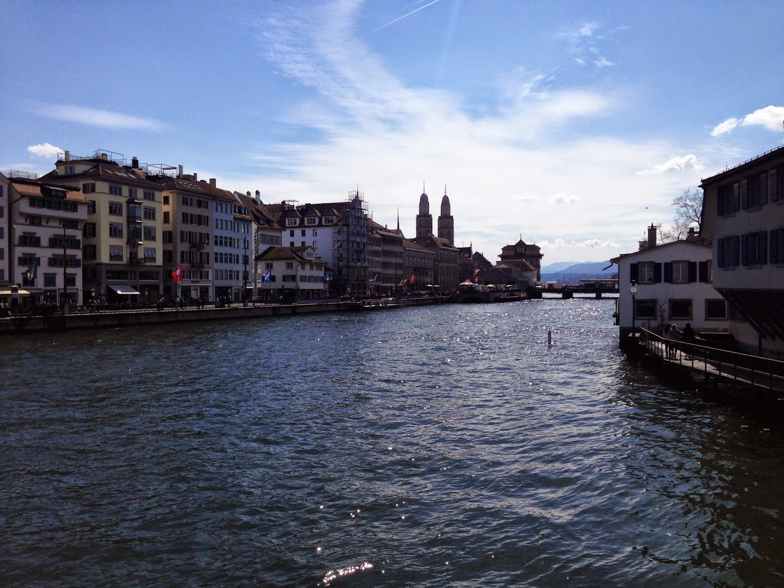 a weekend trip to beautiful zürich.