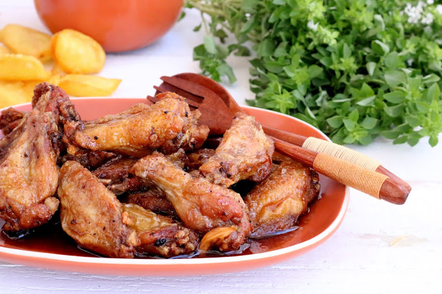 Perninhas de Frango à Americana (Sweet Chicken Wings)