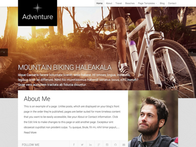 New Themes: Adventure and Basis