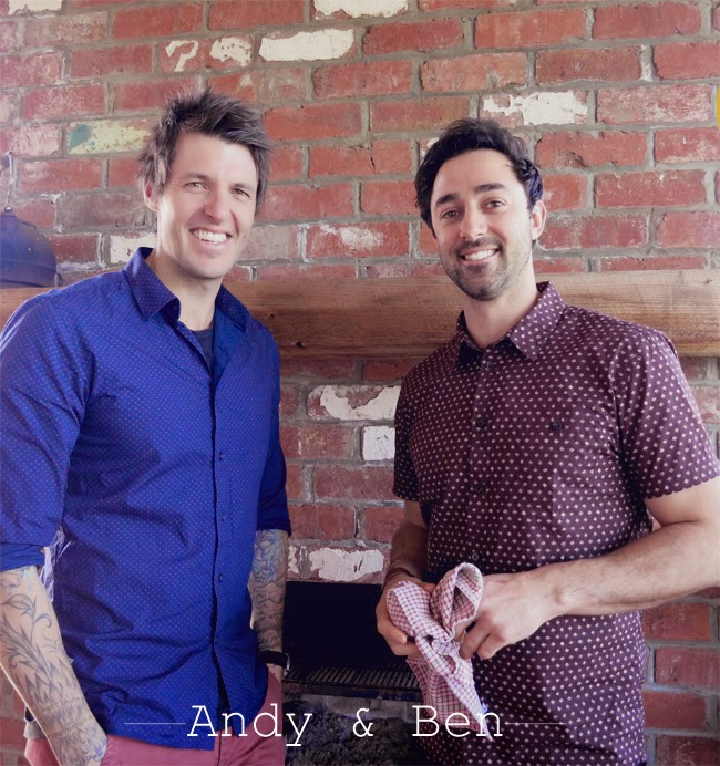 Entrevista ao Andy e Ben do MasterChef Austrália/ Interview with Andy and Bem from MasterChef Australia
