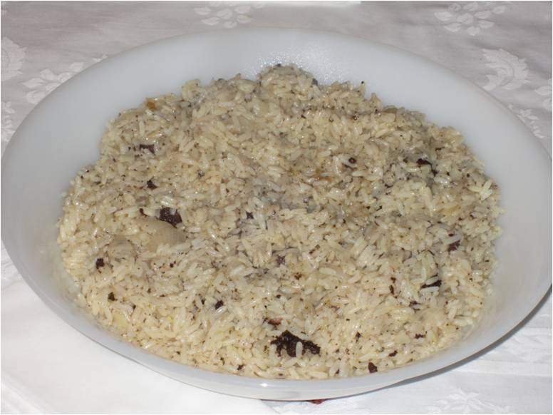 Arroz de morcela