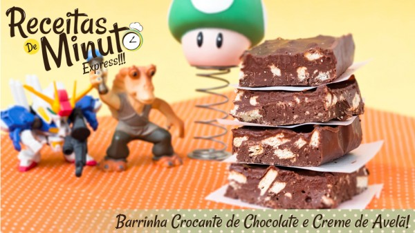 Barra de Chocolate Crocante