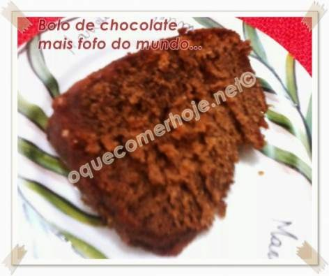 Bolo de chocolate mais fofo do mundo - Receita (