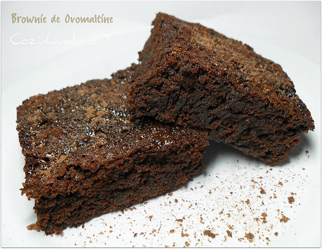 Brownie  de Ovomaltine