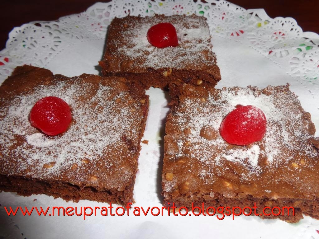 Brownie de cereja
