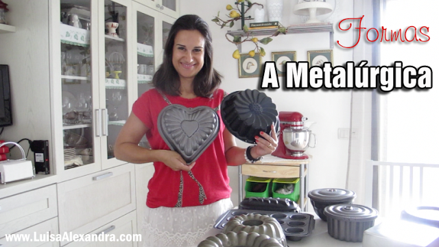 A Metalúrgica [Bakeware Production] • As minhas formas [VÍDEO]