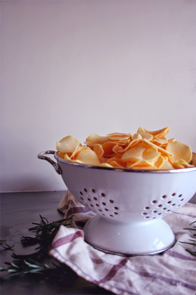 Chips de batata-doce/ sweet potatoes chips