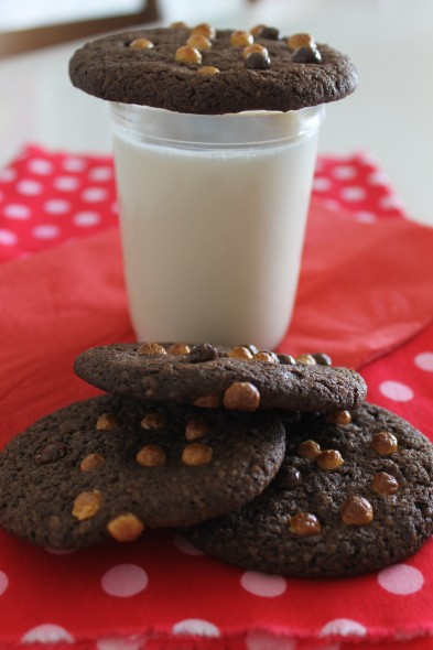 Cookies de Chocolate Amargo