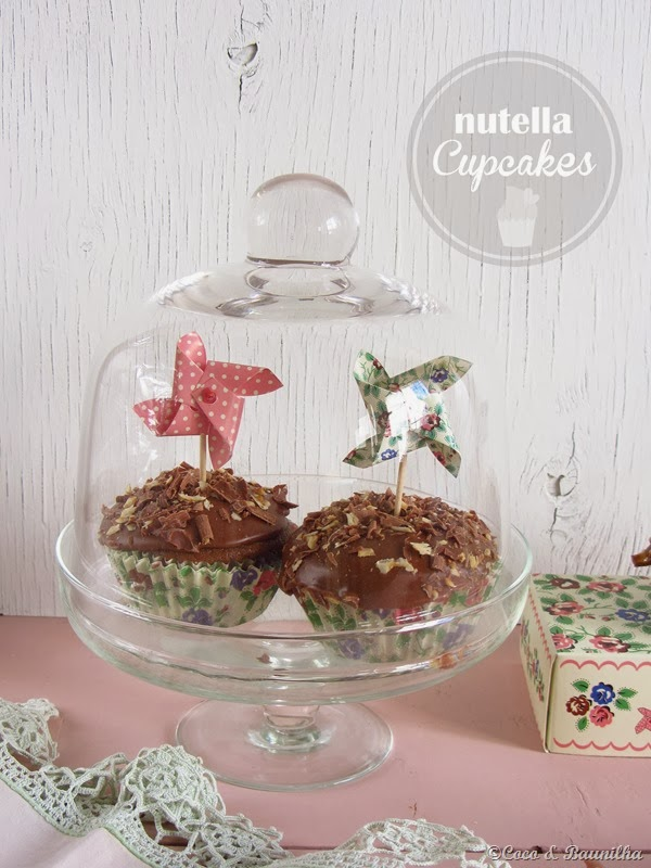 Cupcakes de nutella e um giveaway {More Than Cookies}