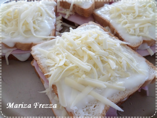 Croque Monsier, de Mariza Frezza