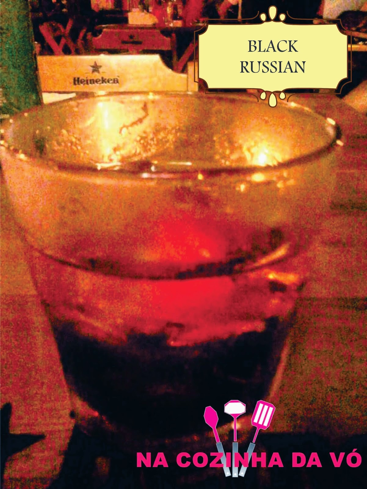 Drink Black Russian