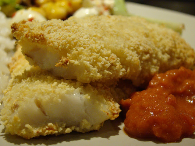 Pescada Crocante no Forno / Crispy Hake in the Oven