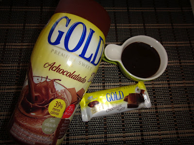 Calda de chocolate diet