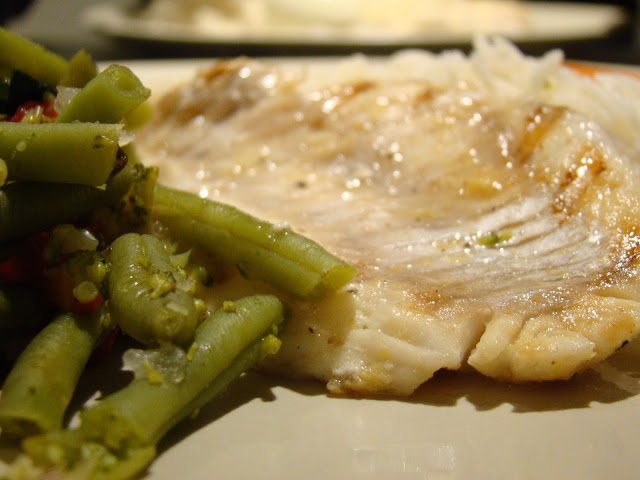 Dourada Grelhada com Gengibre e Limão / Grilled Gilthead with Ginger and Lemon
