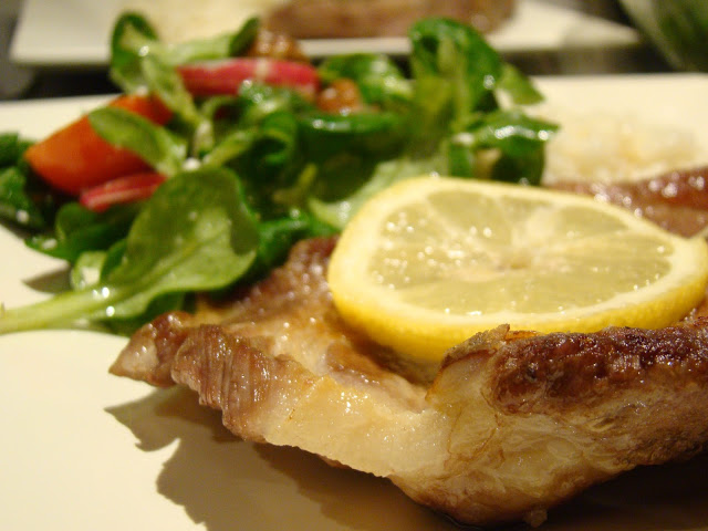 Costeletas Grelhadas com Rosmaninho / Grilled Pork Chops with Rosemary