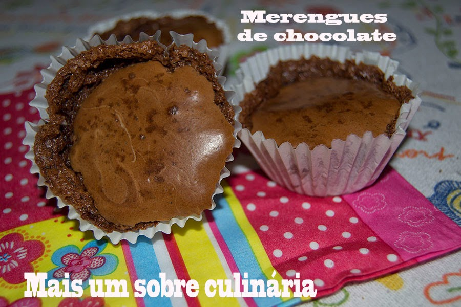 Merengues de chocolate