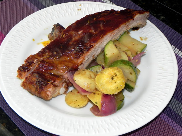 Costelinha ao Barbecue (Barbecue Ribs)