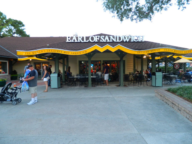 Sanduíche artesanal no Disney Springs - Earl of sandwich