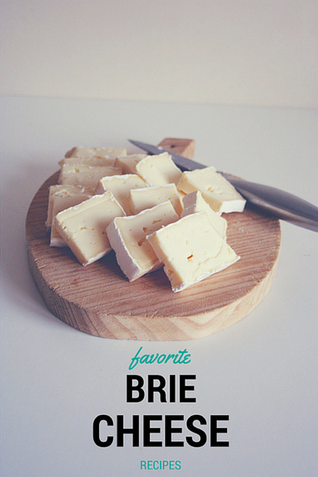 Favorite brie cheese recipes