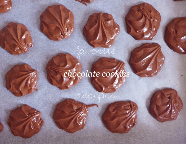 Favorite chocolate cookies recipes
