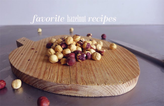 Favorite hazelnut recipes