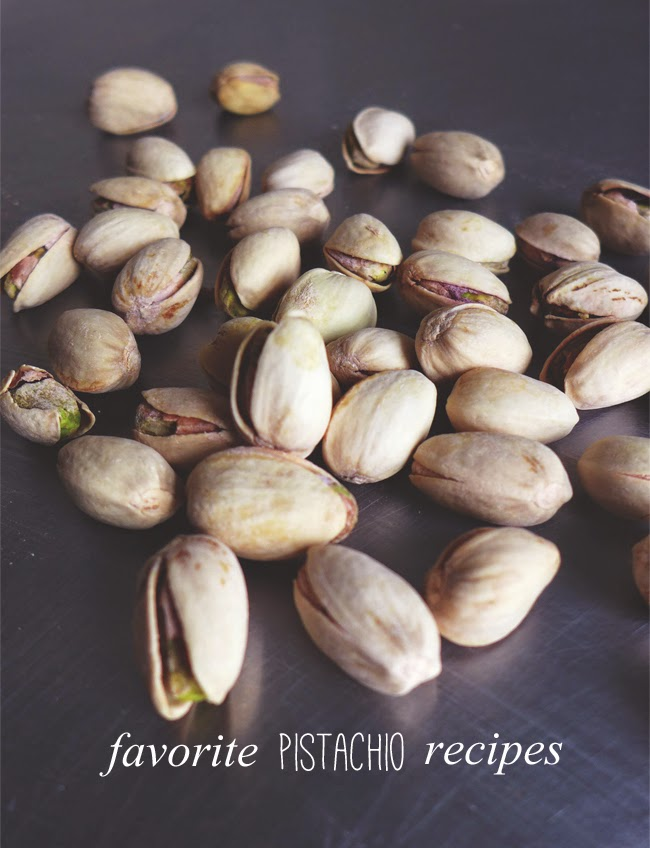Favorite Pistachio recipes