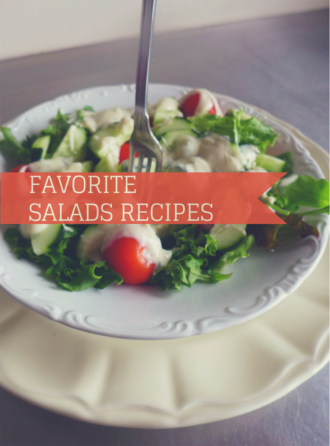 Favorite Salad Recipes