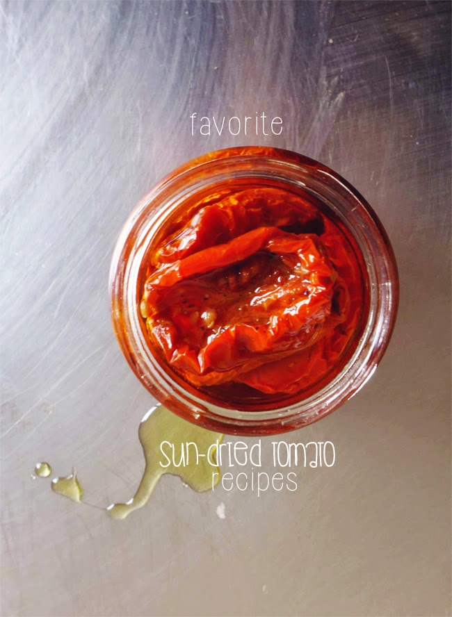 Favorite sun-dried tomato recipes