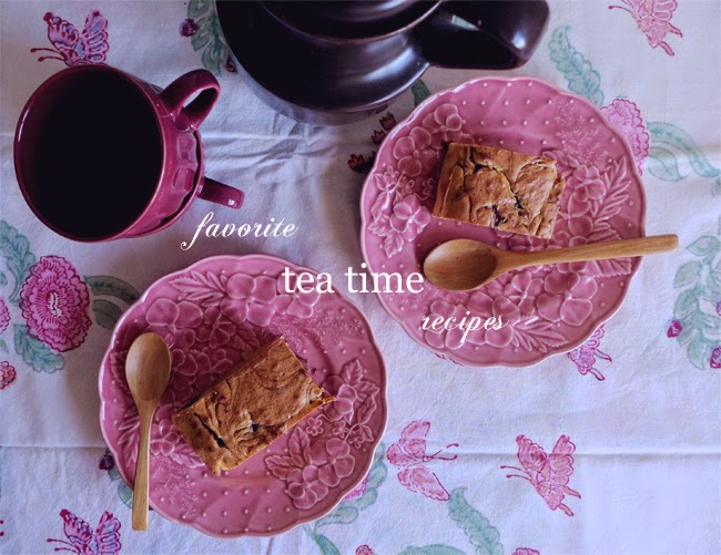 Favorite tea time recipes