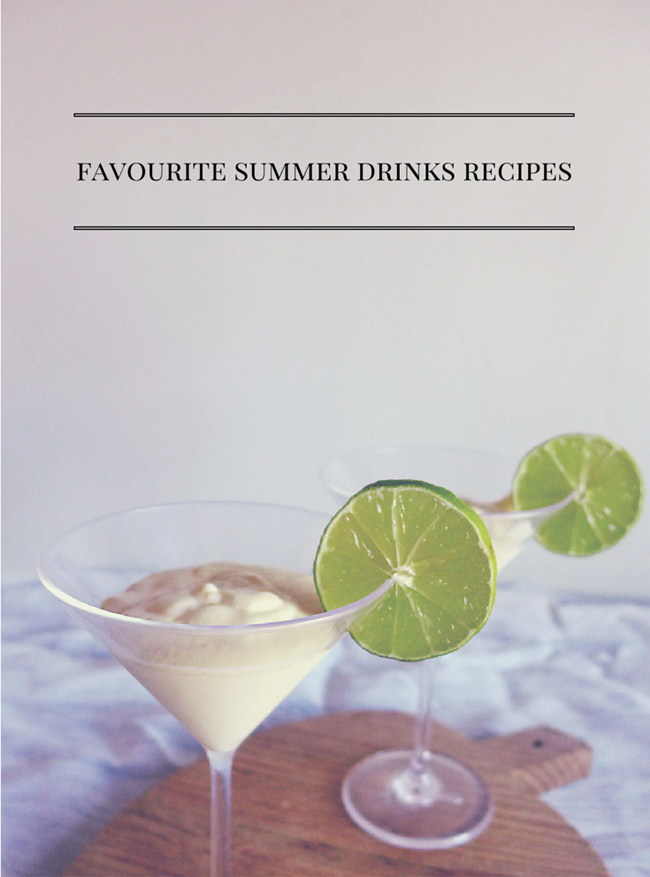 Favourite summer drinks