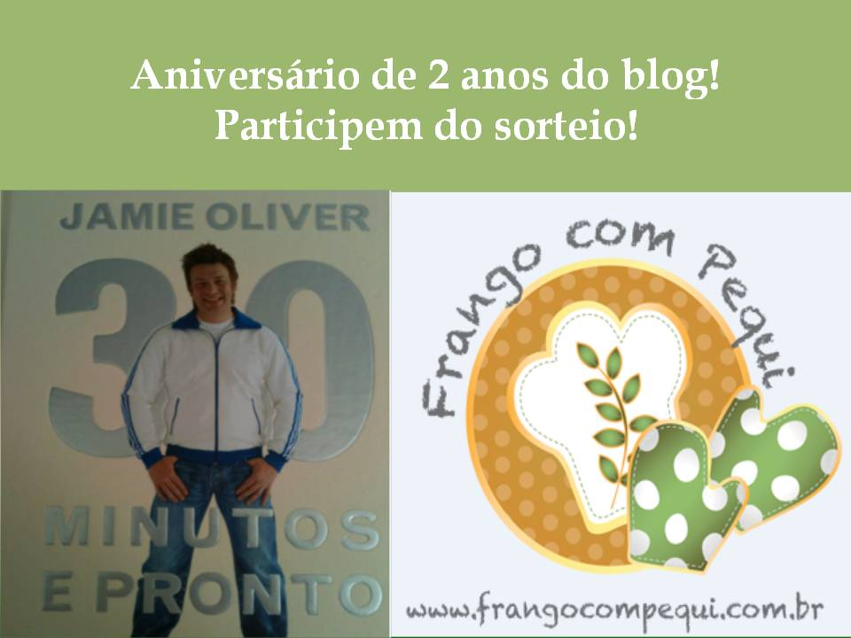 Niver de 2 anos do blog