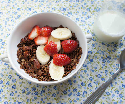 granola de chocolate com ovomaltine