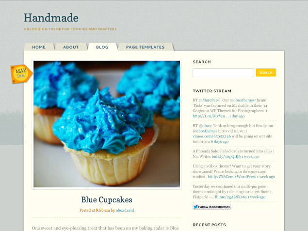 New Themes: Handmade, Untitled, and On a Whim