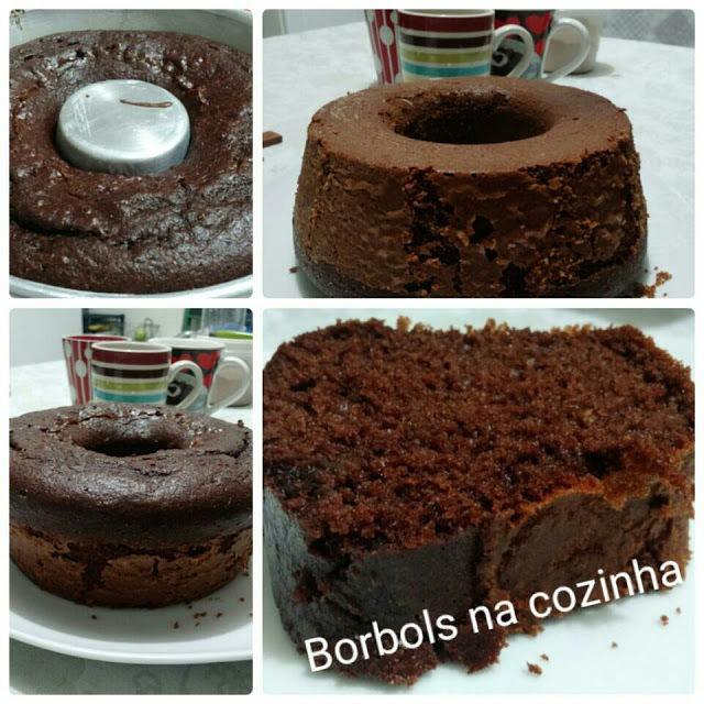 Bolo de Chocolate Europeu Diet SUPER recomendo