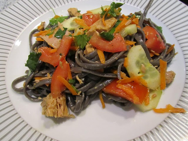 Linguine Al Nero di Seppia Primaveril