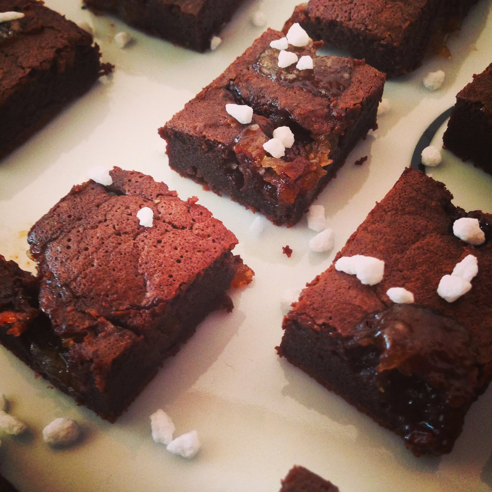 one brownie with a twist.