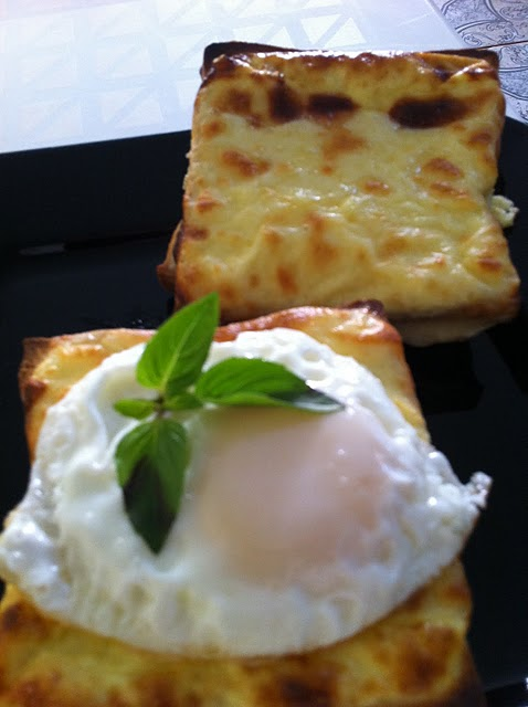 CROQUE... MONSIEUR E MADAME