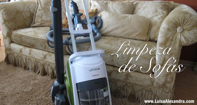 Limpeza de Sofás com o UNICO Allergy Multifloor & Windows • Polti • VÍDEO